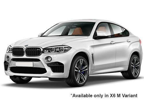 BMW M SeriesMineral-White X6 M Variant Color