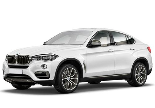BMW X6 Alpine White Color