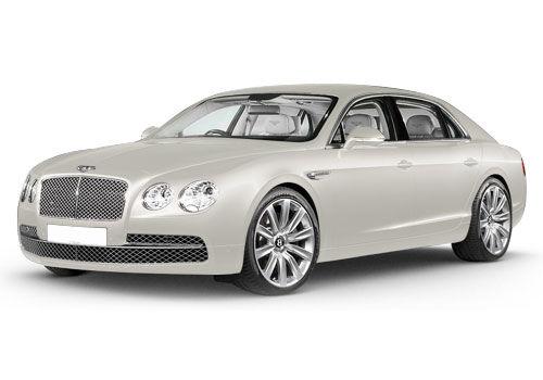 Bentley Flying Spur Glacier White Color