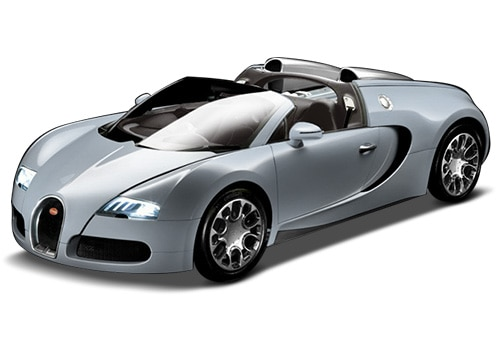Bugatti Veyron Light Blue Color