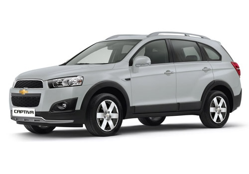 Chevrolet Captiva Smokey Eye Grey Color