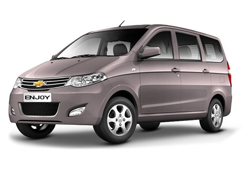 Chevrolet Enjoy 2013 2015 Petrol Ltz 7 Seater On Road Price Features Specs Images