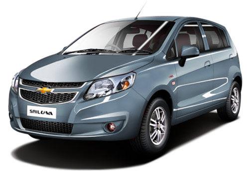 Chevrolet Sail Hatchback 2012-2013 Misty Lake Color