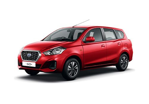 Datsun GO Plus Red Color