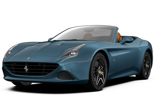 Ferrari California Blu Abu Dhabi Color