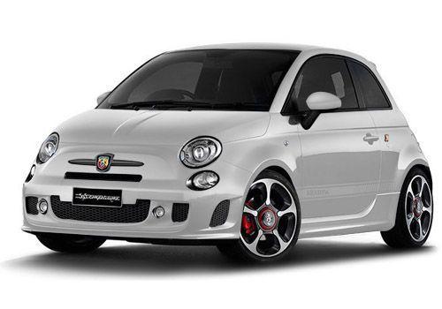 Fiat 500Iridato White Color