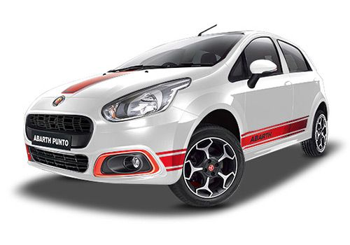 Fiat Abarth PuntoPearl White Color
