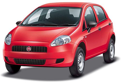Fiat Punto Pure Exotic Red Color