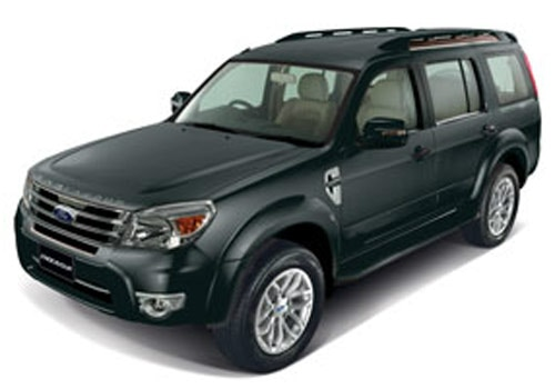 Ford Endeavour 2003-2013 Sea Grey Color