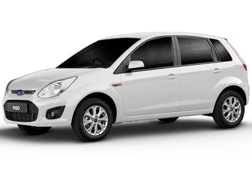 Ford Figo 2012-2015 Diamond White Color