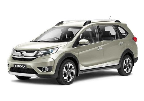 Honda BR-V Orchid White Pearl Color