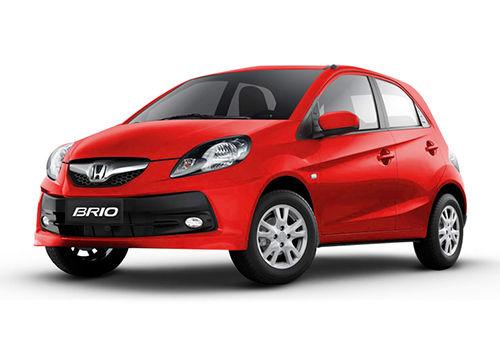 Honda Brio 2011-2013 Rallye Red Color