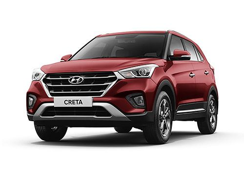 Hyundai Creta Fiery Red Color