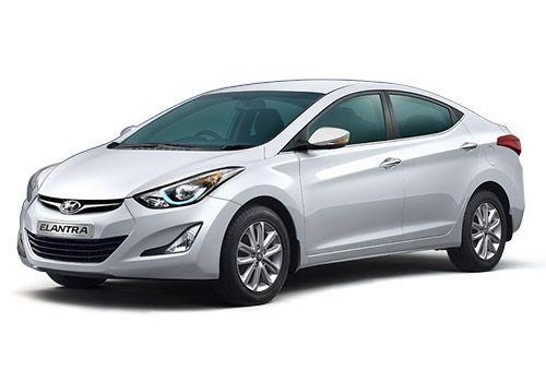 Hyundai Elantra 2015-2016 Sleek Silver Color