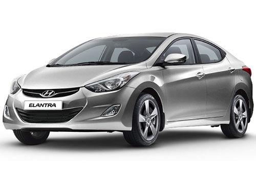 Hyundai Elantra 2012-2015 Sleek Silver Color