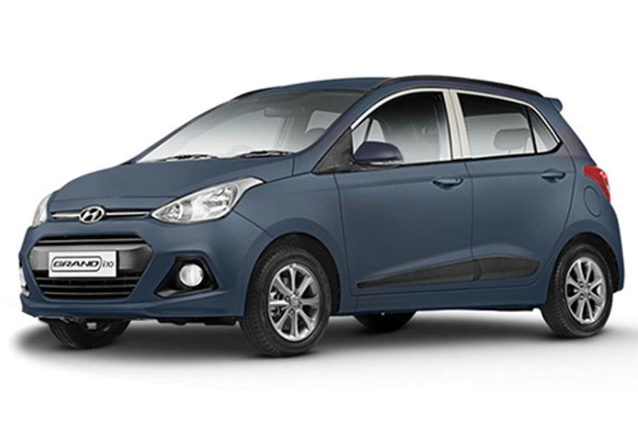 Twilight Blue - Hyundai Grand I10