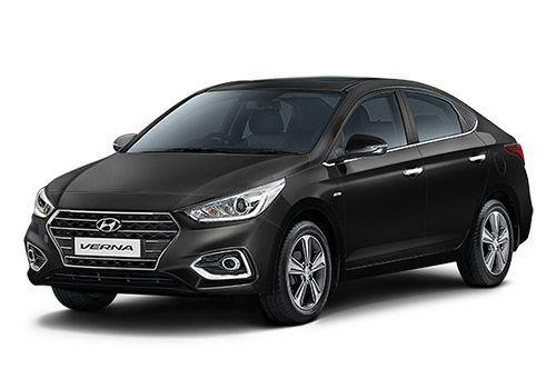 Hyundai Verna 2016-2017 Phantom Black Color