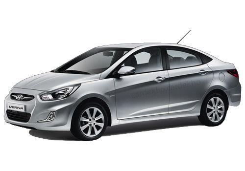 Hyundai Verna 2010-2011 Sleek Silver Color