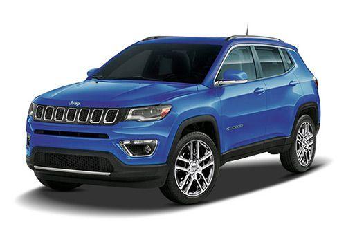 Jeep CompassHydro Blue Color
