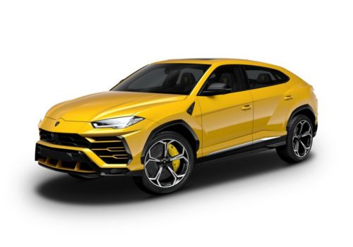 Lamborghini Urus Giallo Evros Color
