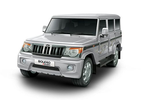 Mahindra Bolero Power Plus Silver Color