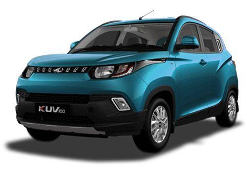 Mahindra KUV 100 2016-2017 Aquamarine Color
