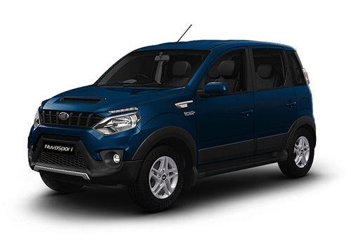 Mahindra NuvoSport Regal Blue Color