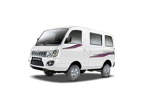Mahindra Supro Dimond white Color