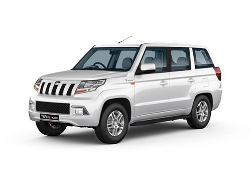 Mahindra TUV 300 Plus Glacier White Color