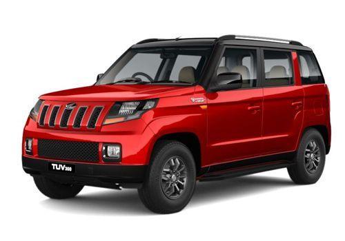 Mahindra TUV 300 Red Black Color