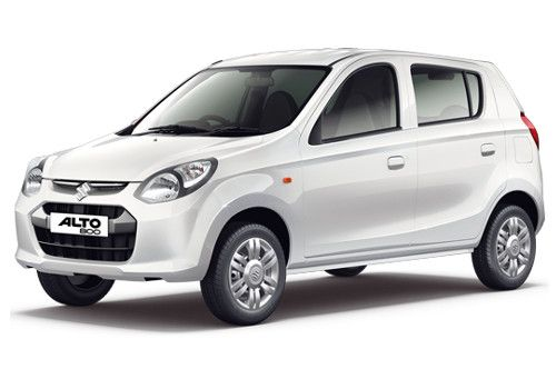 Maruti Alto 800 2012-2016 Superior white Color