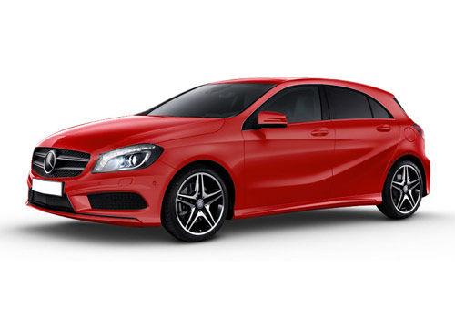 Mercedes-Benz A Class 2013-2015 Jupiter Red Color