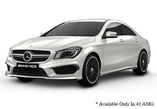 Mercedes-Benz CLACirrus White - AMG Color