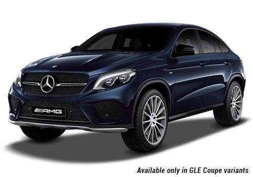 Mercedes-Benz GLECavansite Blue metallic GLE Coupe Variant Color