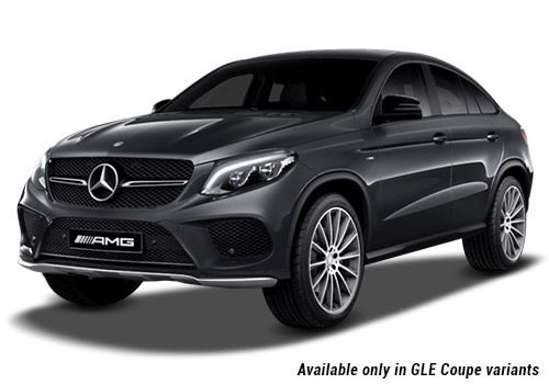 Tenorite Grey metallic GLE Coupe Variant