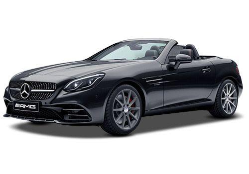 Mercedes-Benz SLC Obsidian Black Metallic Color