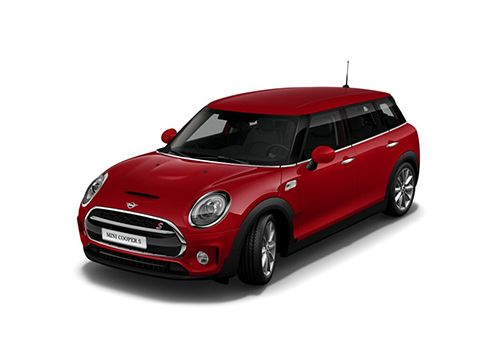 Mini Cooper Clubman Chili Red Color