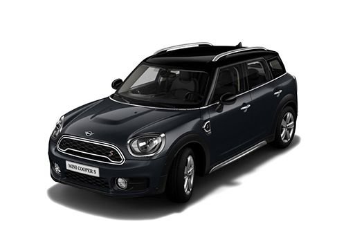 Mini Cooper Countryman Thunder Grey Metallic Color