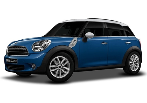Mini CountrymanTrue Blue Color