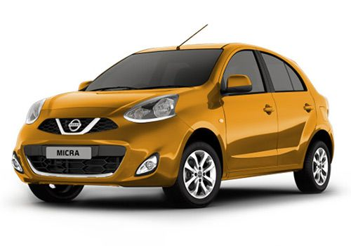 Nissan Micra 2012-2017 Sunshine Orange Color