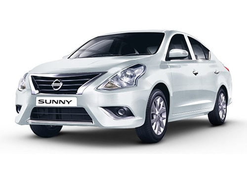 Nissan Sunny 2014-2016 Pearl White Color