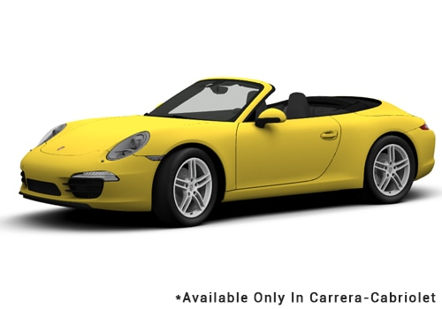 Racing Yellow - Cabriolet