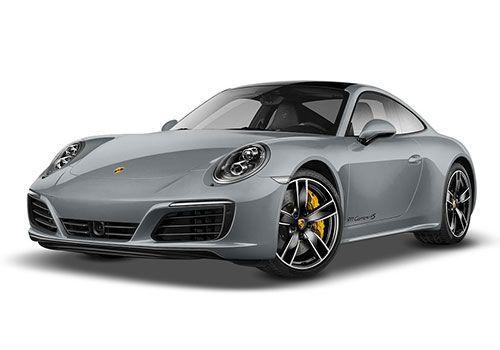 Porsche 911Rhodium Silver Metallic Color