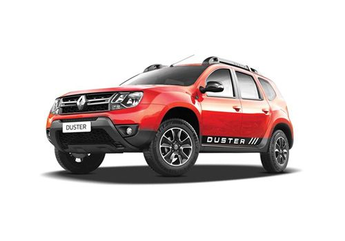Renault Duster Fiery Red Color
