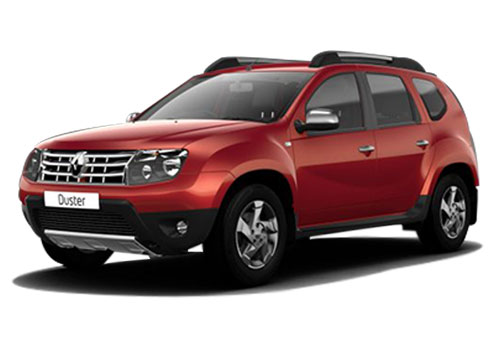 Renault Duster 2015-2016 Metallic Fiery Red Color