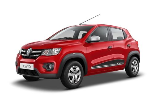 Renault KWID Fiery Red Color
