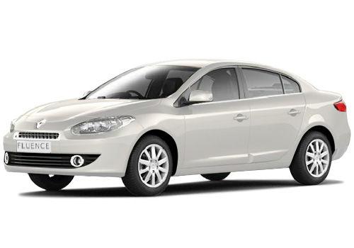 Renault Fluence 2009-2013 Glacier White Color