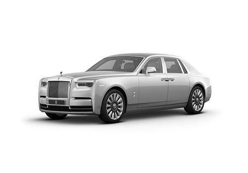 Rolls-Royce Phantom White Sands Color