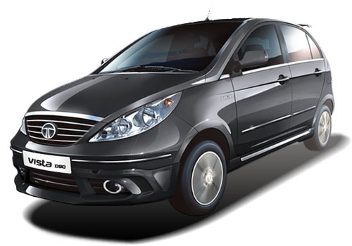 Tata Indica Vista 2008-2013 Cavern Grey Color