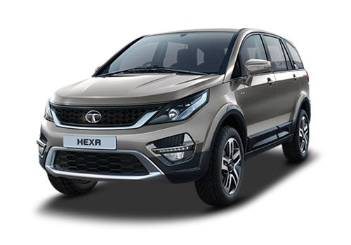 Tata Hexa Tungsten Silver Color